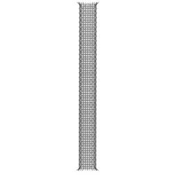 Plasa metalica ancore chimice, pentru materiale cu goluri 16 x 1000 mm