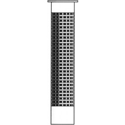 Plasa plastic montaj ancore chimice in materiale cu goluri 12 x 45 mm
